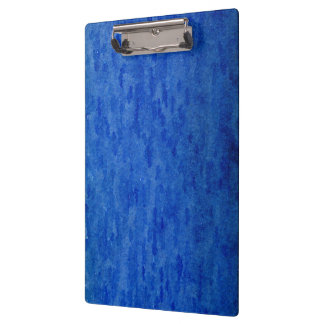 Blue Brush Watercolor Wash Clipboard