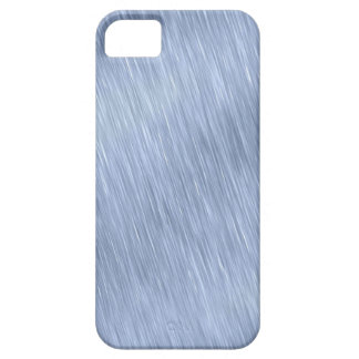Blue Brushed Metal Textured iPhone 5 Case