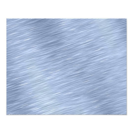 Blue Brushed Metal Textured Photo Print