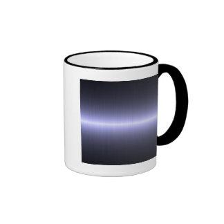 blue brushed strong ringer mug