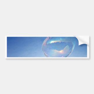 Blue Bubble Bumper Sticker