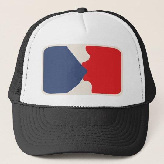 Blue Bubblegum League Trucker Hat