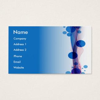 Blue Bubbles Business Card
