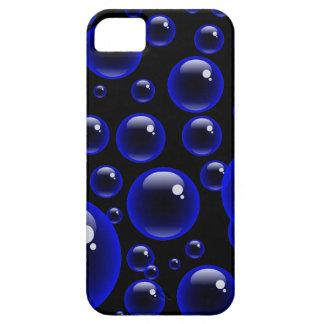 Blue Bubbles iPhone 5 Covers
