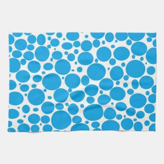 Blue Bubbles Kitchen Towel