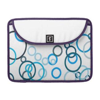 Blue Bubbles MacBook Pro Sleeve