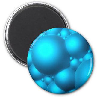 Blue Bubbles Magnet