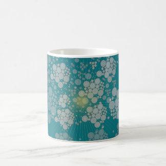 Blue bubbles mug