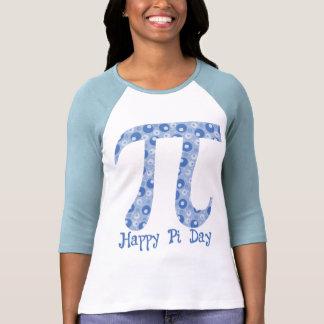 Blue Bubbles Pi Tee Shirt