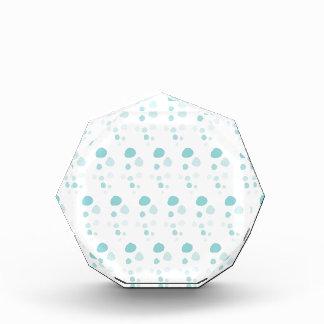 Blue Bubbles Polka Dots Award