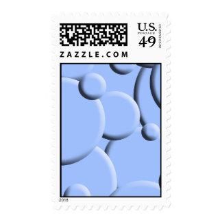 Blue Bubbles Postage