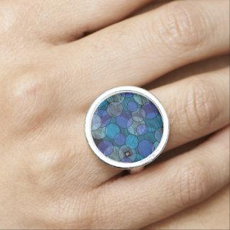 blue bubbles rings