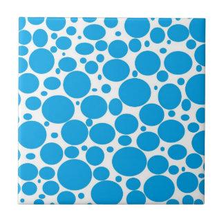 Blue Bubbles Tile