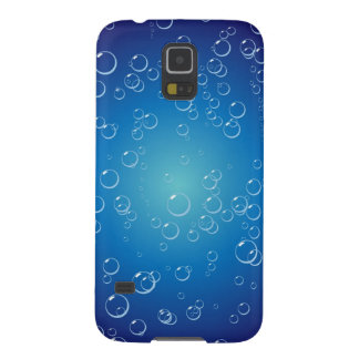 Blue Bubbles Under Water Cases For Galaxy S5