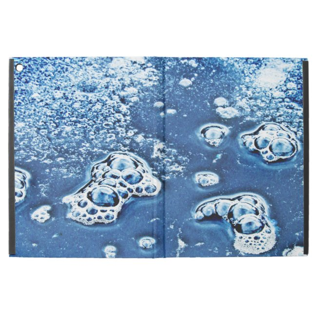 Blue Bubbles Water Abstract Powis iPad Pro Case