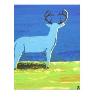 Blue Buck Letterhead