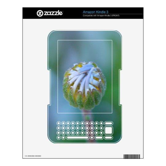 Blue Bud Daisy - Kindle 3 Skin