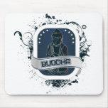 Blue Buddha Art Mouse Pad