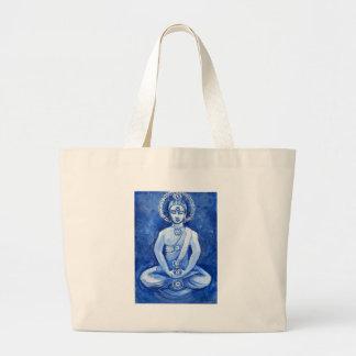 Blue Buddha Canvas Bags