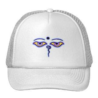 Blue Buddha Eyes.png Trucker Hat