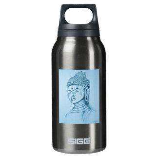 Blue Buddha Insulated Water Bottle