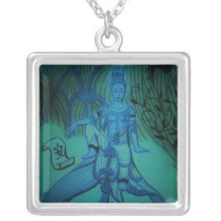 Blue Buddha Love Necklace