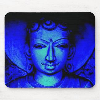Blue Buddha Mousepad