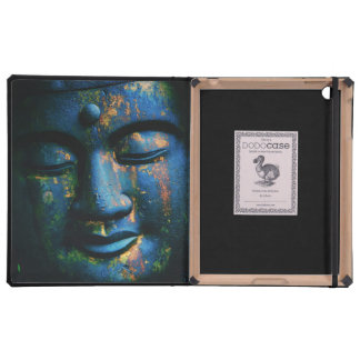 Blue Buddha Om Peace iPad Cover
