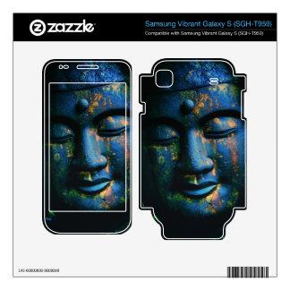 Blue Buddha Om Peace Samsung Vibrant Decal