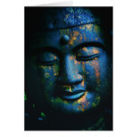 Blue Buddha Om Peace Stationery Note Card