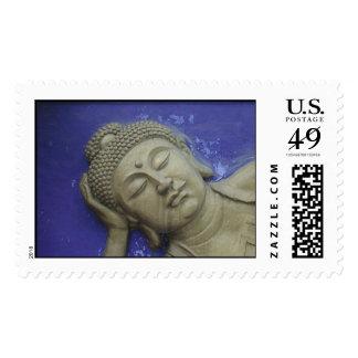 Blue Buddha Postage
