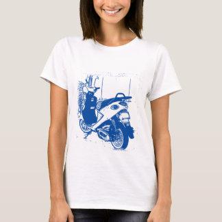 Blue Buddy Drawing T-Shirt
