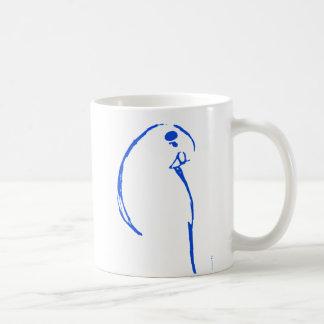 Blue Budgerigar Mug