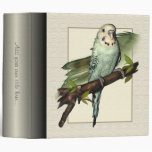 "Blue Budgie 2"" Avery Binder"