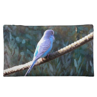 Blue Budgie Cosmetic Bags