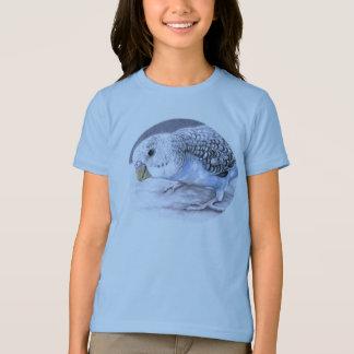 Blue Budgie Parakeet Bird Art T shirt