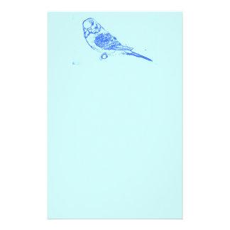 Blue Budgie Stationery