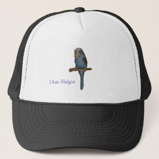 Blue Budgie Trucker Hat