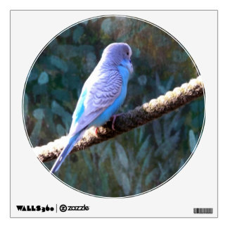 Blue Budgie Room Stickers
