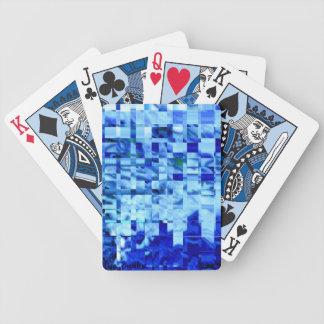 Blue Budha Bicycle Playing Cards
