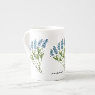 Blue Buds Bone china Mug Tea Cup