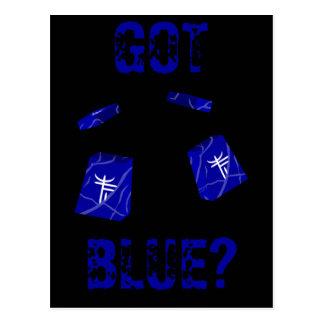 BLUE BUFF POSTCARD