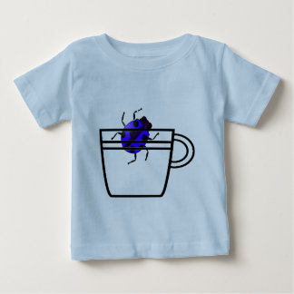 blue bug in a cup t-shirt