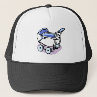 blue buggy trucker hat