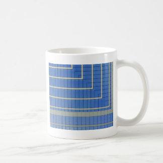 Blue Building Block 4 Coffee Mug