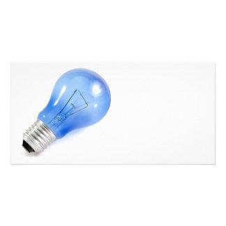Blue bulb card