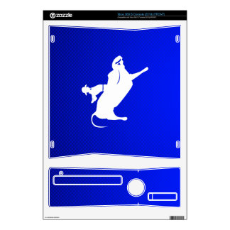 Blue Bull Rider Xbox 360 S Skin