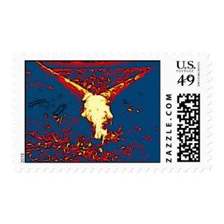 blue bull stamp