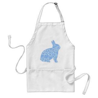Blue Bunny Adult Apron