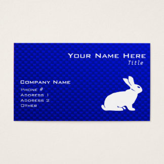 Blue Bunny Business Card